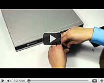 How to install a hard drive in the TREND 250x8 DVR