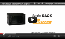 How to assemble Signal RACK cabinet
