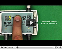 How to set up RF modulator TERRA MT47