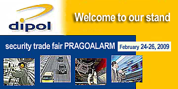 ULTISYSTEM - a strong entry - DIPOL at PRAGOALARM<br />Prague, February 24-26, 2009