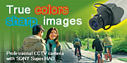Color CCTV Camera: U-cam 110 (without lens)
