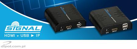 HDMI to IP Converter: Signal HD (with USB extender)