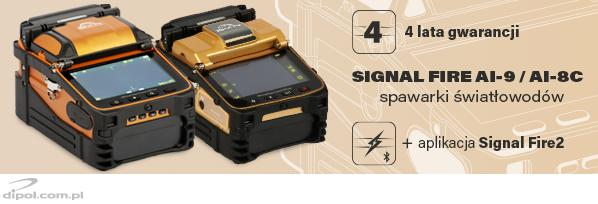 Fusion Splicer: Signal Fire AI-8 (with toolbox and tools)