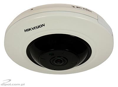 Fisheye IP Camera: Hikvision DS-2CD2942F-IS (4MP, 1.6 mm, 0.01 lx, IR up to 10m, audio IN/OUT, alarm IN/OUT)