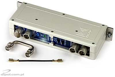 Channel Amplifier: Alcad ZG-401 (ch. selected from C45-C56)