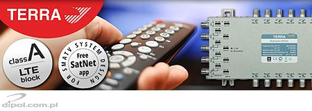 TERRA multiswitches - new quality of SMATV systems