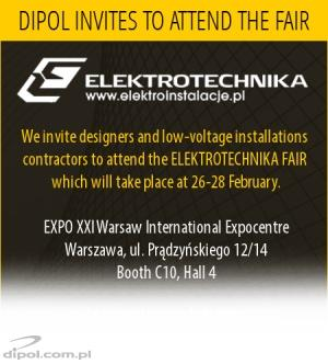DIPOL at International Fair of Electric Fittings and Security Systems