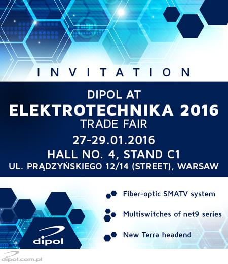 DIPOL at Electricity 2016 International Fair