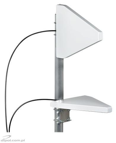 ATK-LOG ALP 5G MIMO 2x2 Antenna (698-3800MHz, 10m cable, SMA plug)