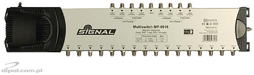 5/4 Multiswitch: Signal MP-0504L (active terrestrial TV)