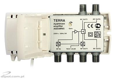Broadband Amplifier with Return Channel: Terra AS-038R65