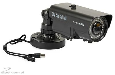 Outdoor Compact Camera: n-cam 670 (day/night, D-WDR, 650TVL, Sony Effio-E, 0.03 lx, 2.8-12mm, OSD, IR up to 30m)