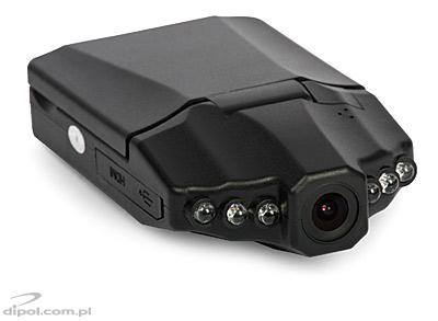 Portable DVR Camera: PROTECT 701 (HD, H.264, SDHC/MMC, adjustable LCD screen)