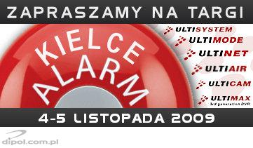 ULTIMONITORING at Alarm Kielce, Nov. 4-5, 2009