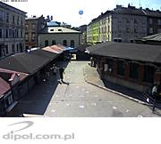 Megapixel video surveillance system<br />at Plac Nowy square in Krakow