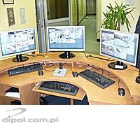Video surveillance system in Myslenice