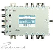 Multiswitch Terra MSV-504 (5-in, 4-out) - with IF gain adjustment