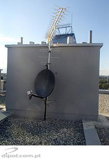 Broadband TV antenna (logarithmic-periodic-dipole): MLOG 6-60