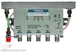 Odbiornik optyczny OR501MW QUAD z DVB-T TERRA
