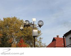 Video surveillance system in Dobczyce, Poland