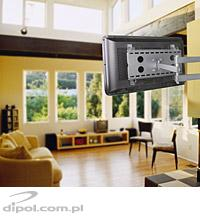 Flat Panel Wall Mount: DP108S (23-37 inches, tilt &swivel)