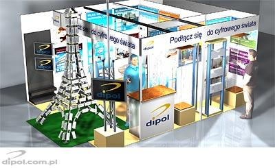Connect to the digital world - DIPOL at Intertelecom, March 22-24, 2011