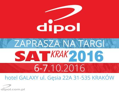 DIPOL at SAT KRAK Digital Television Fair, Oct. 6-7, 2016
