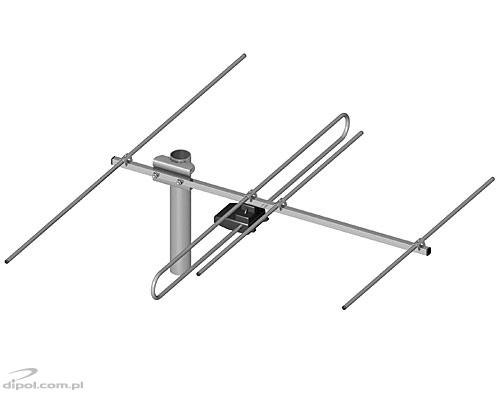 Broadband TV Antenna: ASP-8W LUX A (with LNA-177 amplifier)