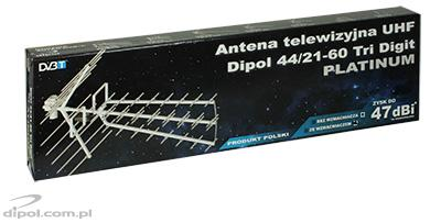 UHF TV Antenna: DIPOL 44/21-60 Tri Digit