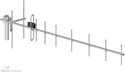 CDMA 450 Antenna: FREEDOM CDMA-10 400-470 MHz (with 10m cable + TNC connector)