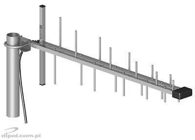 Antena ATK-LOG GSM/DCS/UMTS/HSDPA + 5 metrów przewodu + wtyk SMA