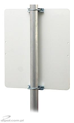 WLAN WiFi Maxi Panel Antenna (2.4GHz, 18dB, 0.5m cable &SMA/RP)