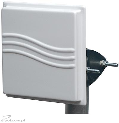 WLAN WiFi Panel Antenna: TetraAnt (2.4GHz, 14dB)