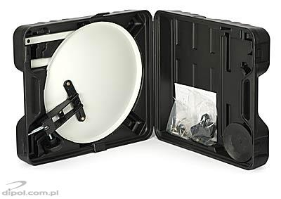 Mobile Sat Dish: Camping 35 (offset)