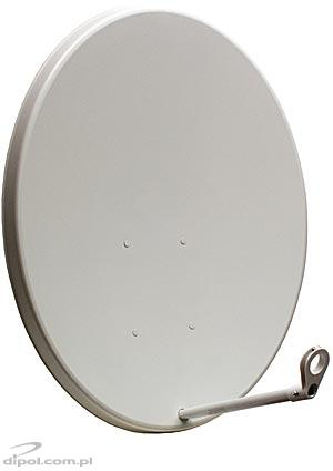 Aluminum Offset Satellite Dish: 90cm (A - E adjustment)