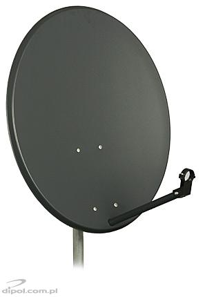 Satellite Dish ASC-800M 80cm A-E <br />(zinc-plated steel sheet, painted)
