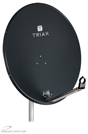 Steel Satellite Dish: TRIAX 80 TD (dark gray)