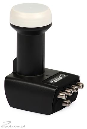 UNIVERSAL LNB QUAD/TERRESTRIAL TV: INVERTO 0.2dB