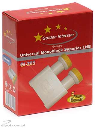 Monoblock Golden Interstar LNB (0.2dB)