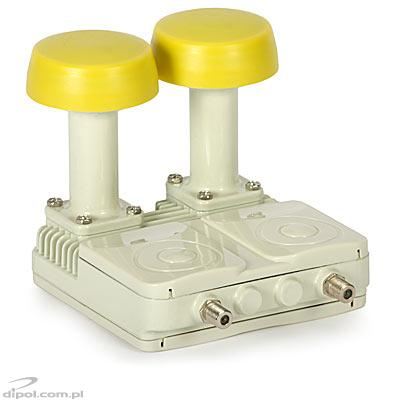 TWIN MONOBLOCK LNB: GOLDEN INTERSTAR