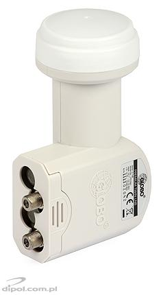 Twin LNB: Opticum LTP-04H Premium 0.1dB