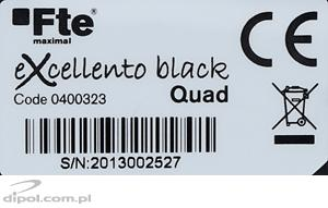 Fte eXcellento QUAD LNB (0.1dB, black)