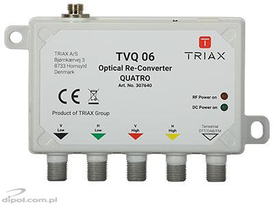 Receptor/LNB optic SAT-IF & DVB-T FibSZ-QUATRO