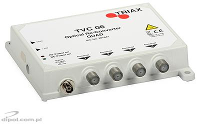Receptor/LNB optic SAT-IF & DVB-T FibSZ-QUAD