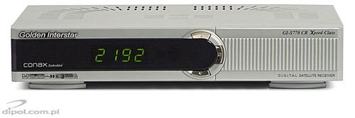 Tuner DVB-S Golden Interstar GI-S770 CR