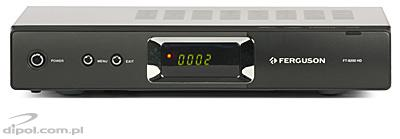 Digital Terrestrial TV Receiver: Ferguson FT 8200 HD<br />(MPEG-2 &amp;MPEG-4)