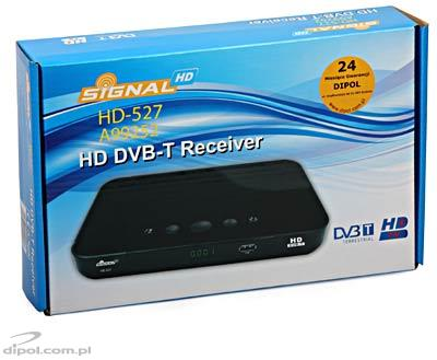Tuner digital terestru Signal HD-507 (MPEG-2/4, PVR Ready)