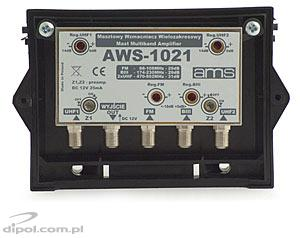Outdoor Antenna Amplifier: AWS-1021M (with power supply)