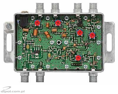 Indoor Antenna Amplifier: AWS-1031 (FM/BIII/3*UHF/30dB)