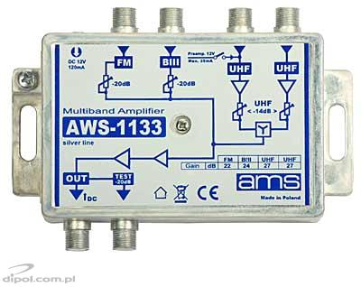 Indoor antenna amplifier: AWS-1133 SilverLine